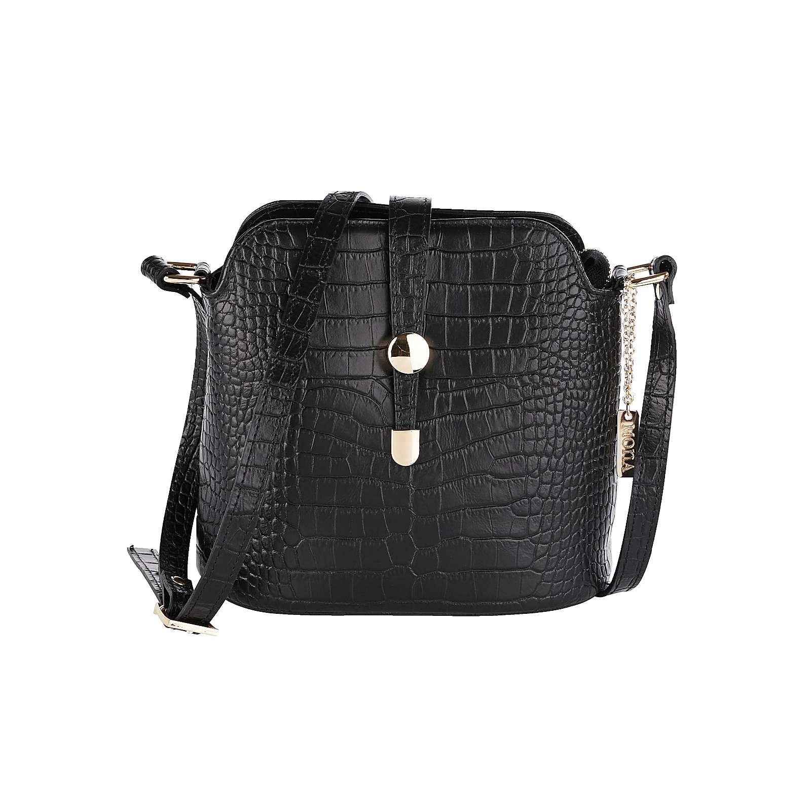 MONA Umhängetasche ca. 22 x 21 x 11,5 cm Einkaufstaschen schwarz Damen