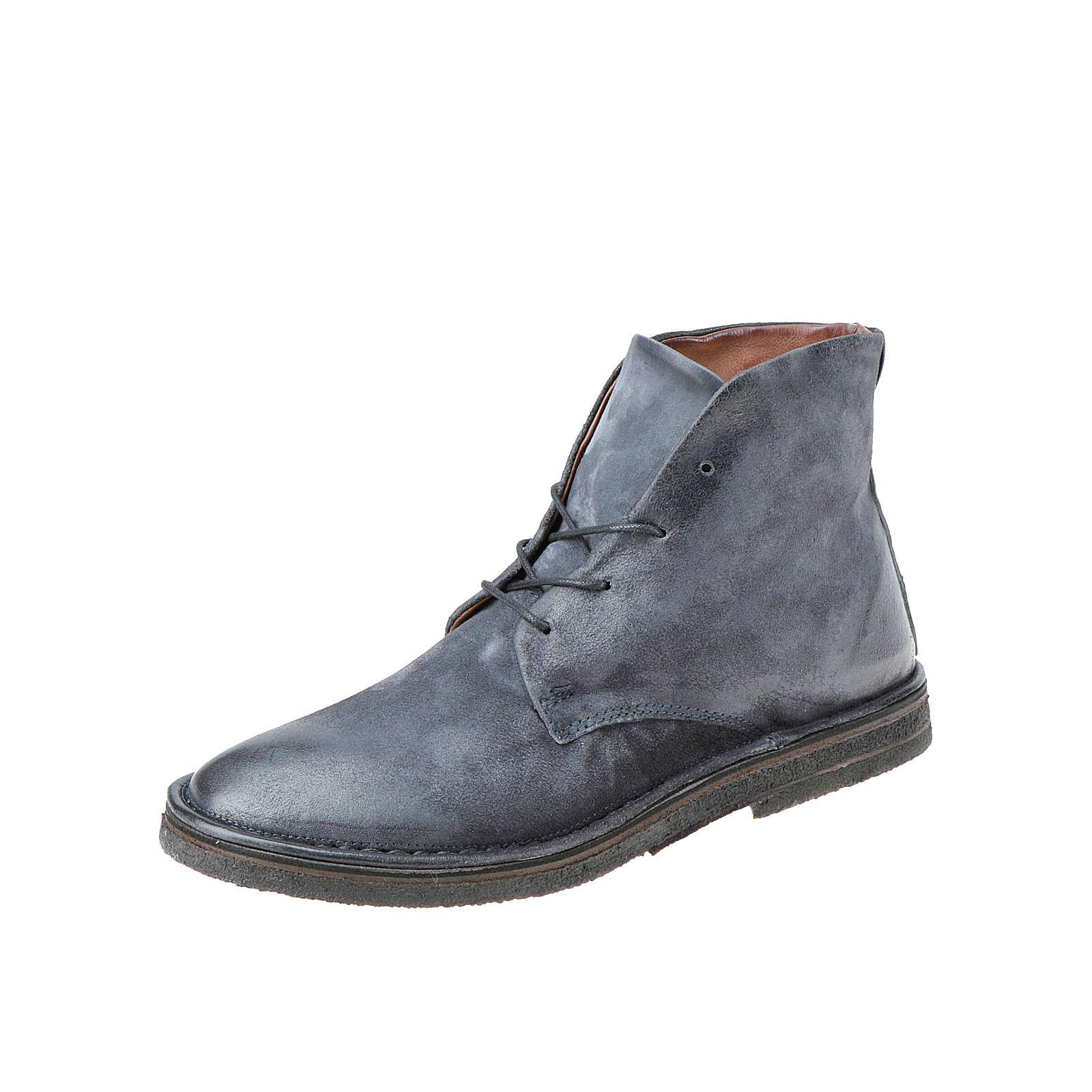 A.S.98 Stiefeletten Klassische Stiefel dunkelblau Herren Gr. 46