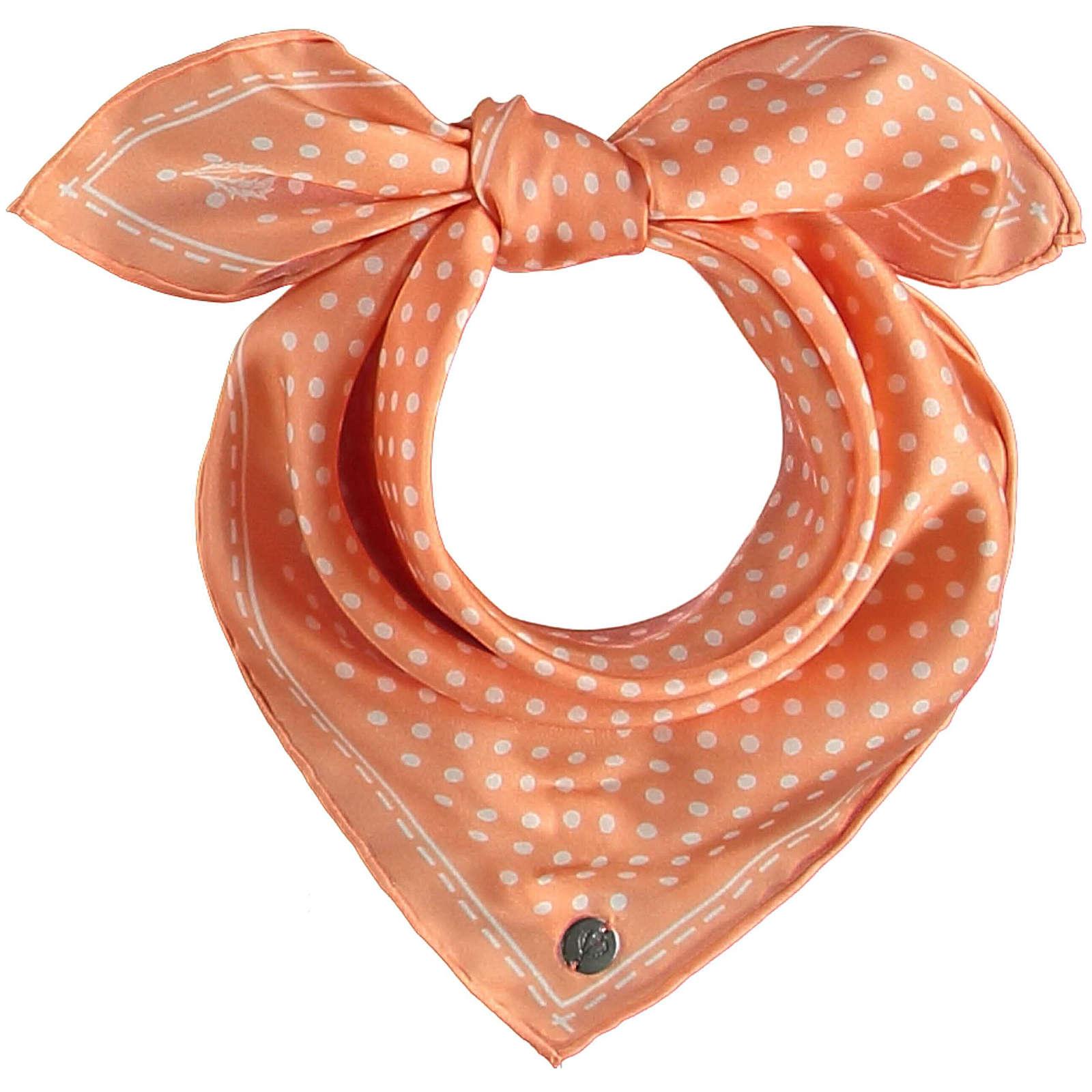FRAAS Nickituch aus reiner Seide Halstücher rosa Damen Gr. one size
