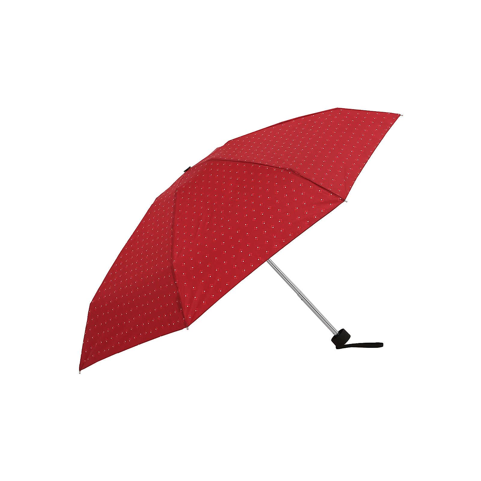 Tamaris Regenschirm Tambrella Mini 7 Minimals Regenschirme rot Damen Gr. one size