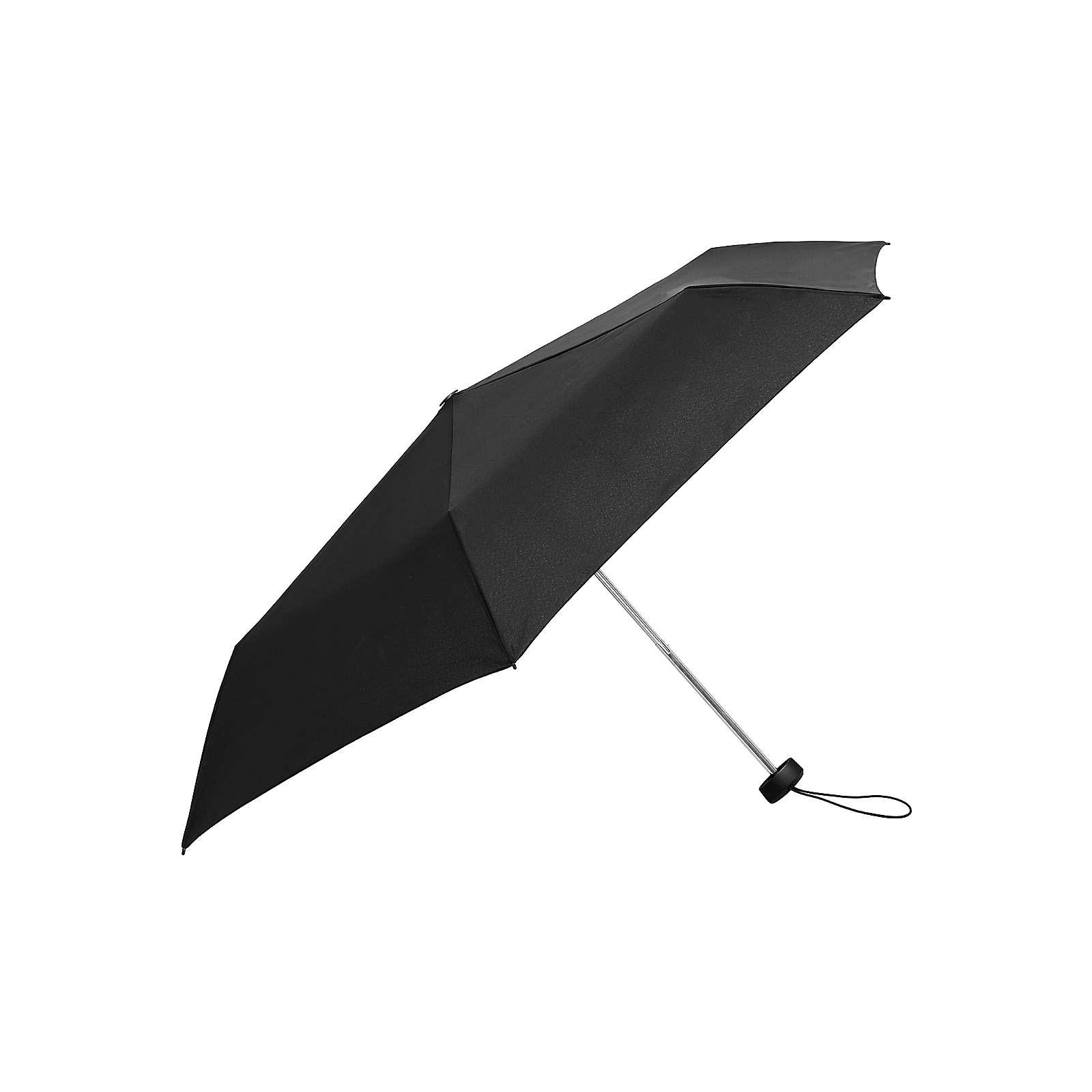 Knirps Regenschirm AS.050 Slim Small Manual Regenschirme schwarz Herren Gr. one size