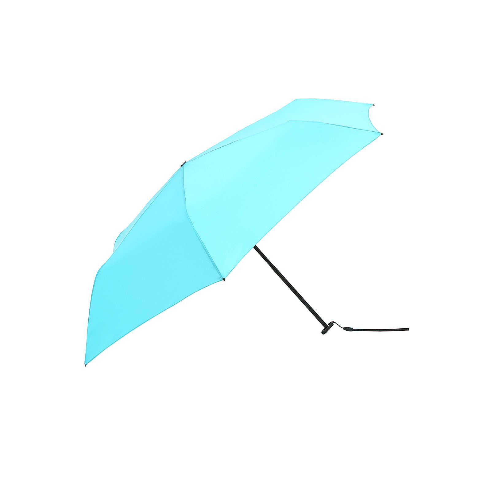 Knirps Regenschirm US.050 Ultra Light Slim Manual Regenschirme blau Herren Gr. one size