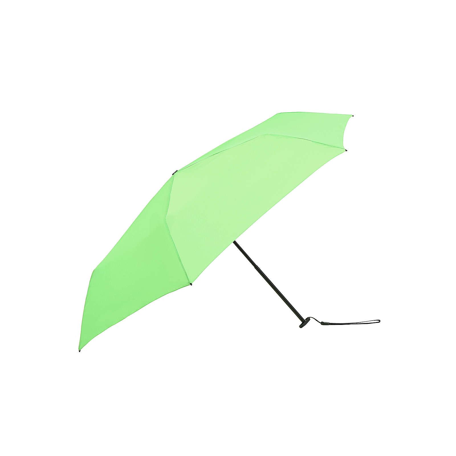 Knirps Regenschirm US.050 Ultra Light Slim Manual Regenschirme grün Herren Gr. one size