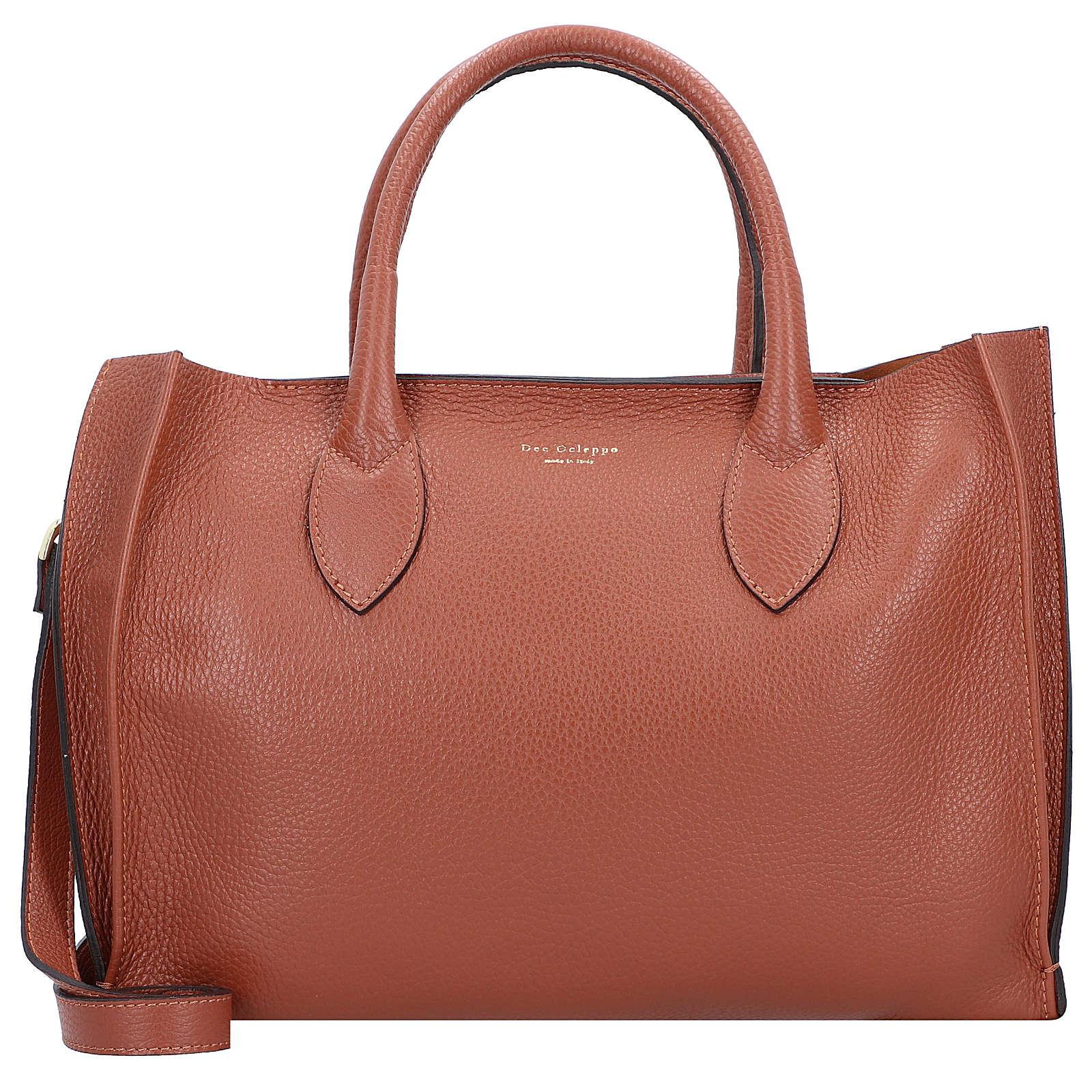 Dee Ocleppo Handtasche Leder 35 cm Handtaschen braun Damen