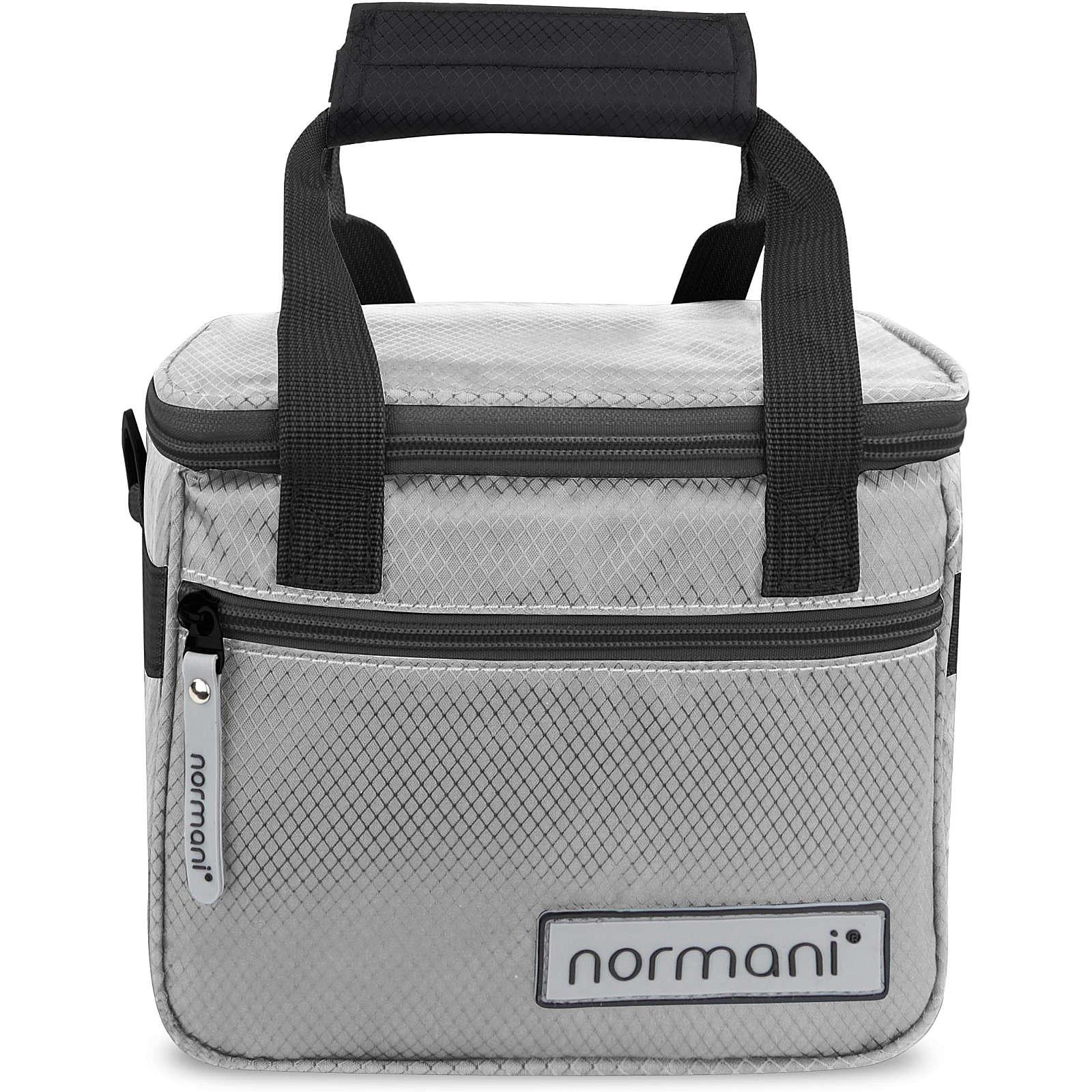 normani® Isolierte Kühltasche 5 l Astana Kühltaschen grau