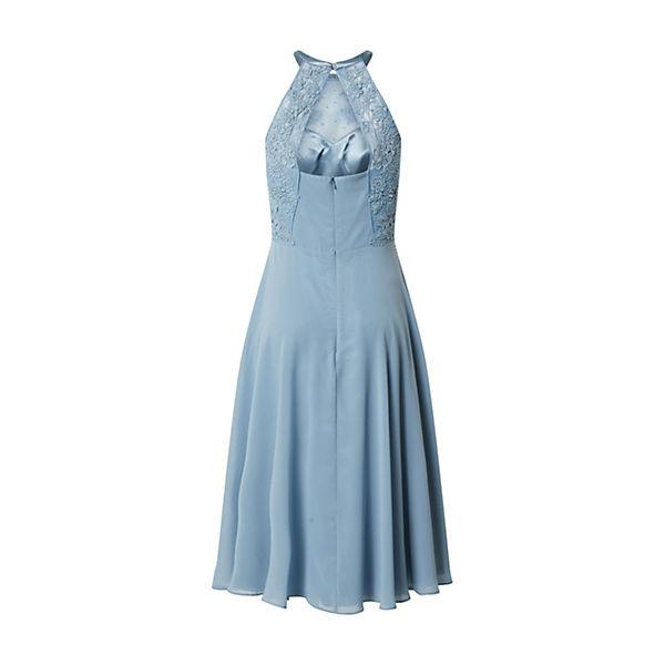 Vm Vera Mont Kleid Sommerkleider Blau Mirapodo