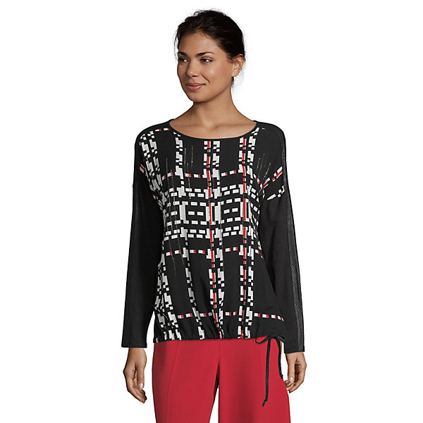 Betty Barclay Blusenshirt mit Tunnelzug Langarmshirts
