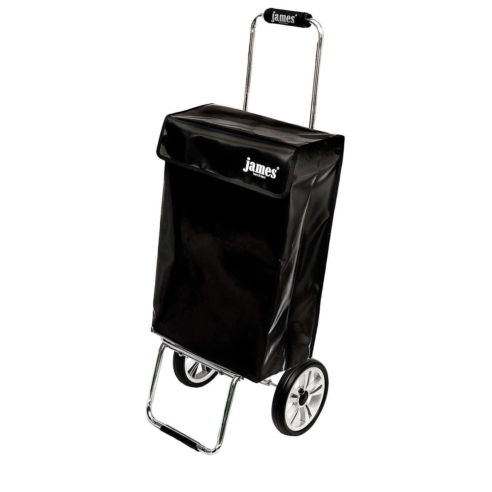 james® Design BLACKY deluxe 1blac1239900xa Einkaufstrolley Einkaufstrolleys schwarz