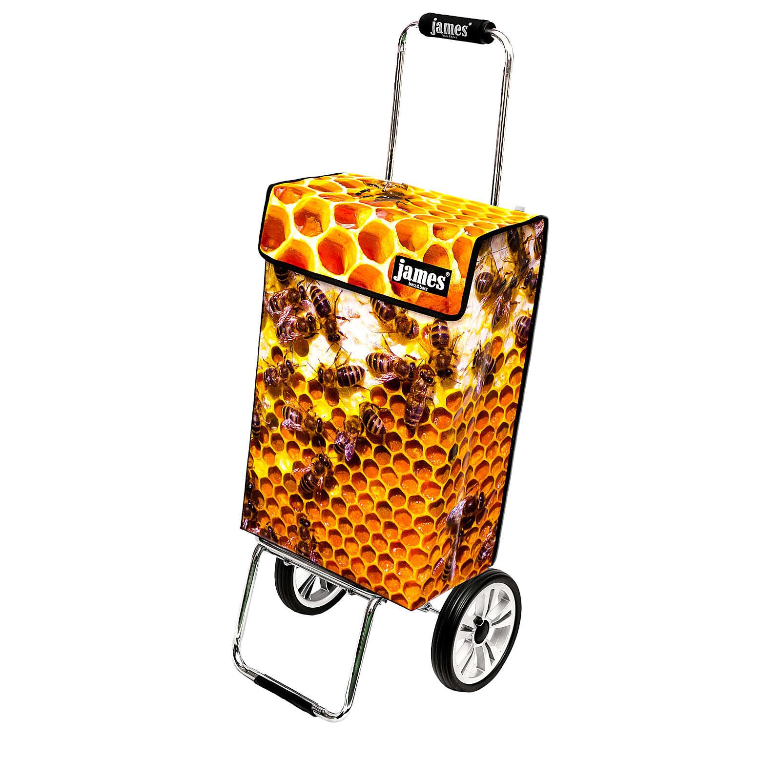 james® Design BEE deluxe 1beee1239900xa Einkaufstrolley Einkaufstrolleys braun