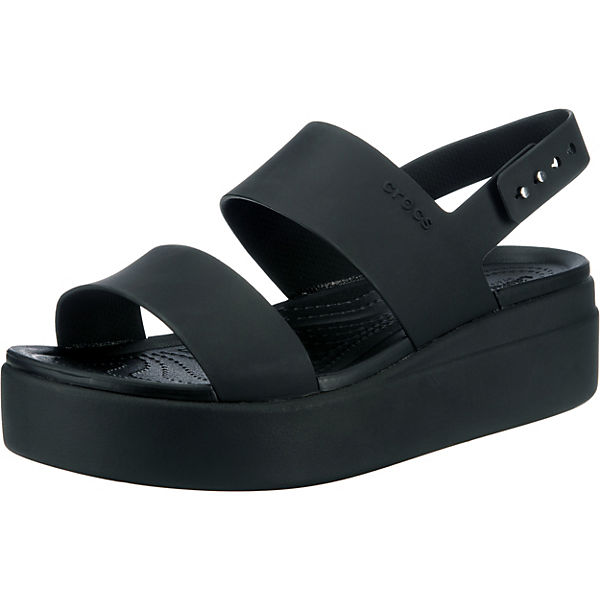 Crocs Brooklyn Low Wedge W Plateau-Sandaletten