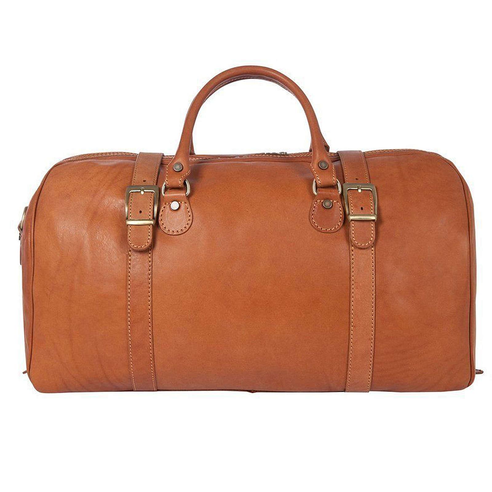 TOSSO´S Reisetasche Dito's Duffle Reisetaschen hellbraun
