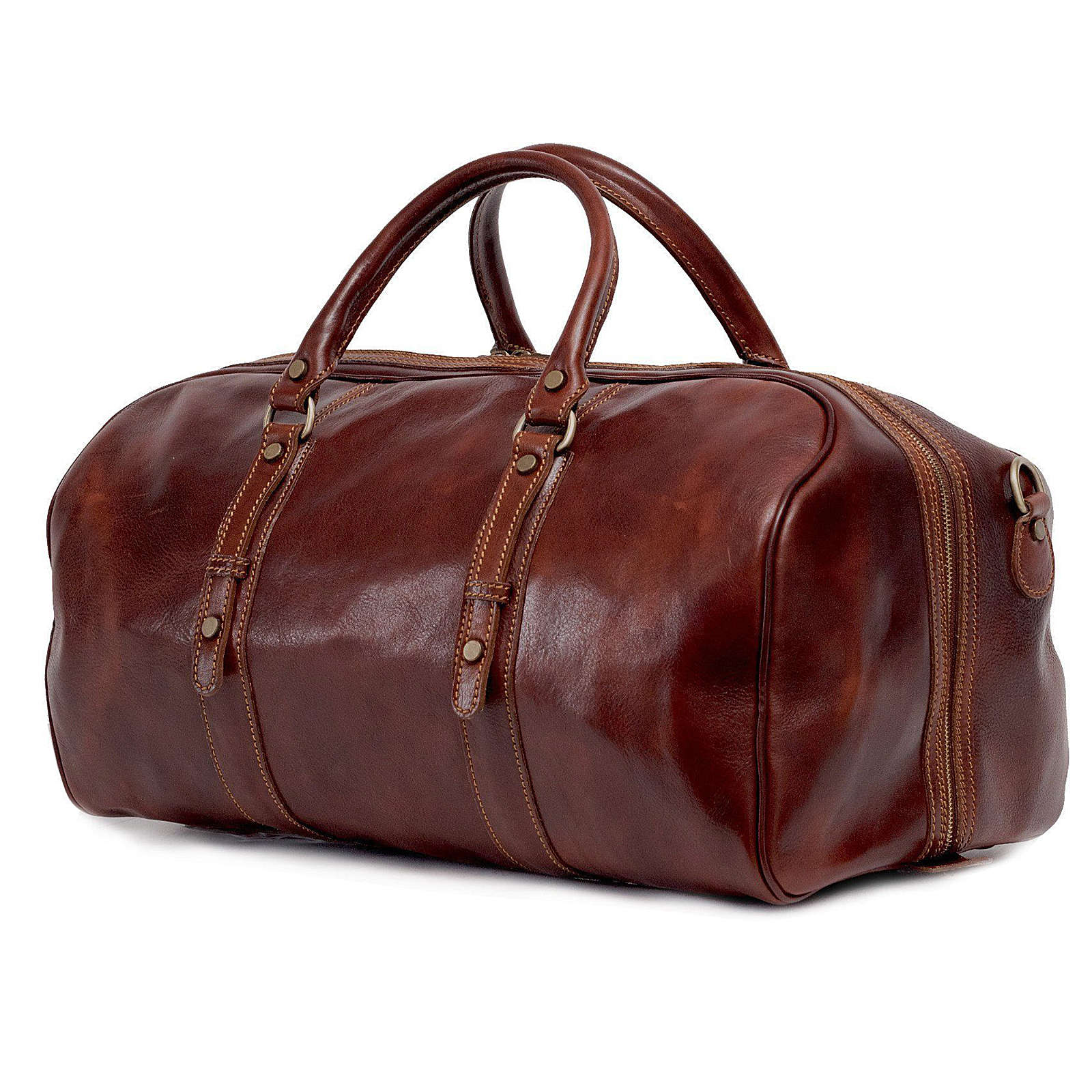 TOSSO´S Reisetasche Ritus' Duffle Reisetaschen braun