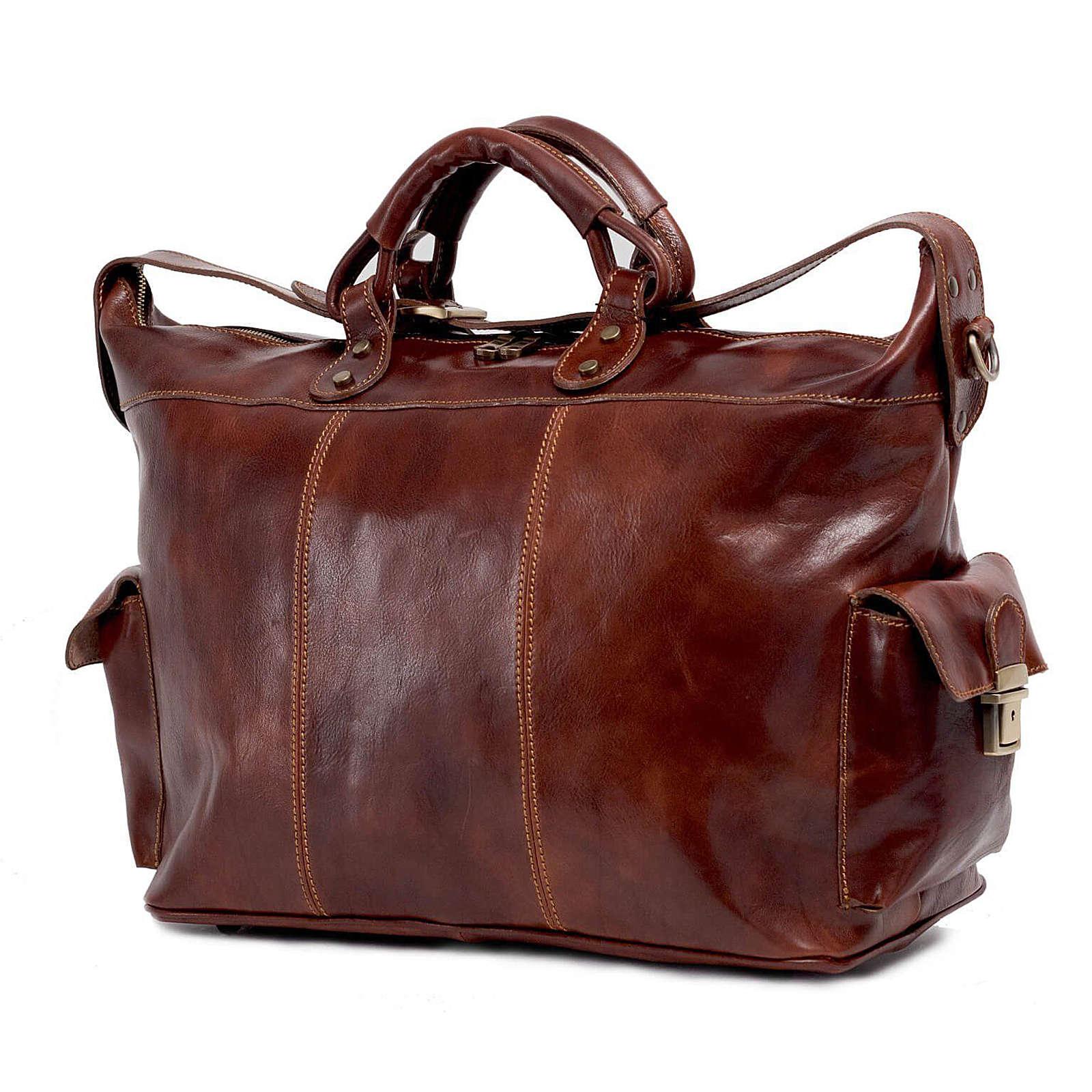TOSSO´S Reisetasche Duke's Duffle Reisetaschen braun