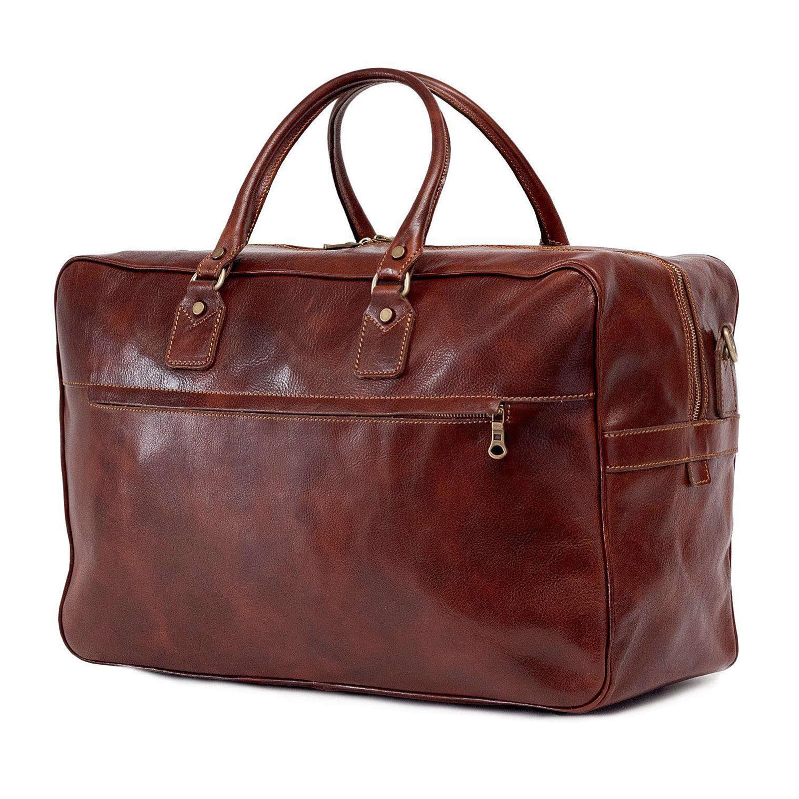 TOSSO´S Reisetasche Traveller's Duffle Reisetaschen braun