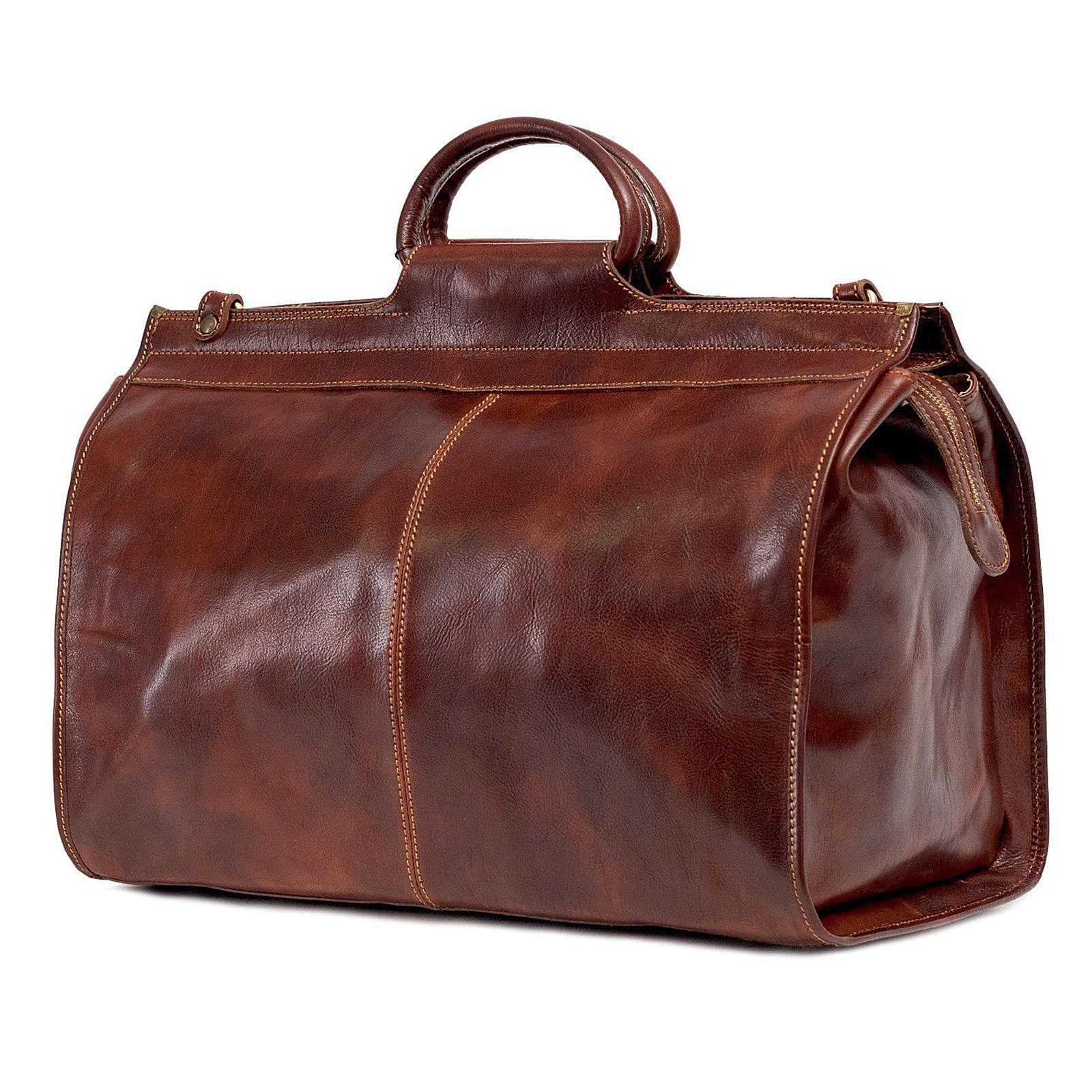 TOSSO´S Reisetasche Council's Duffle Reisetaschen braun