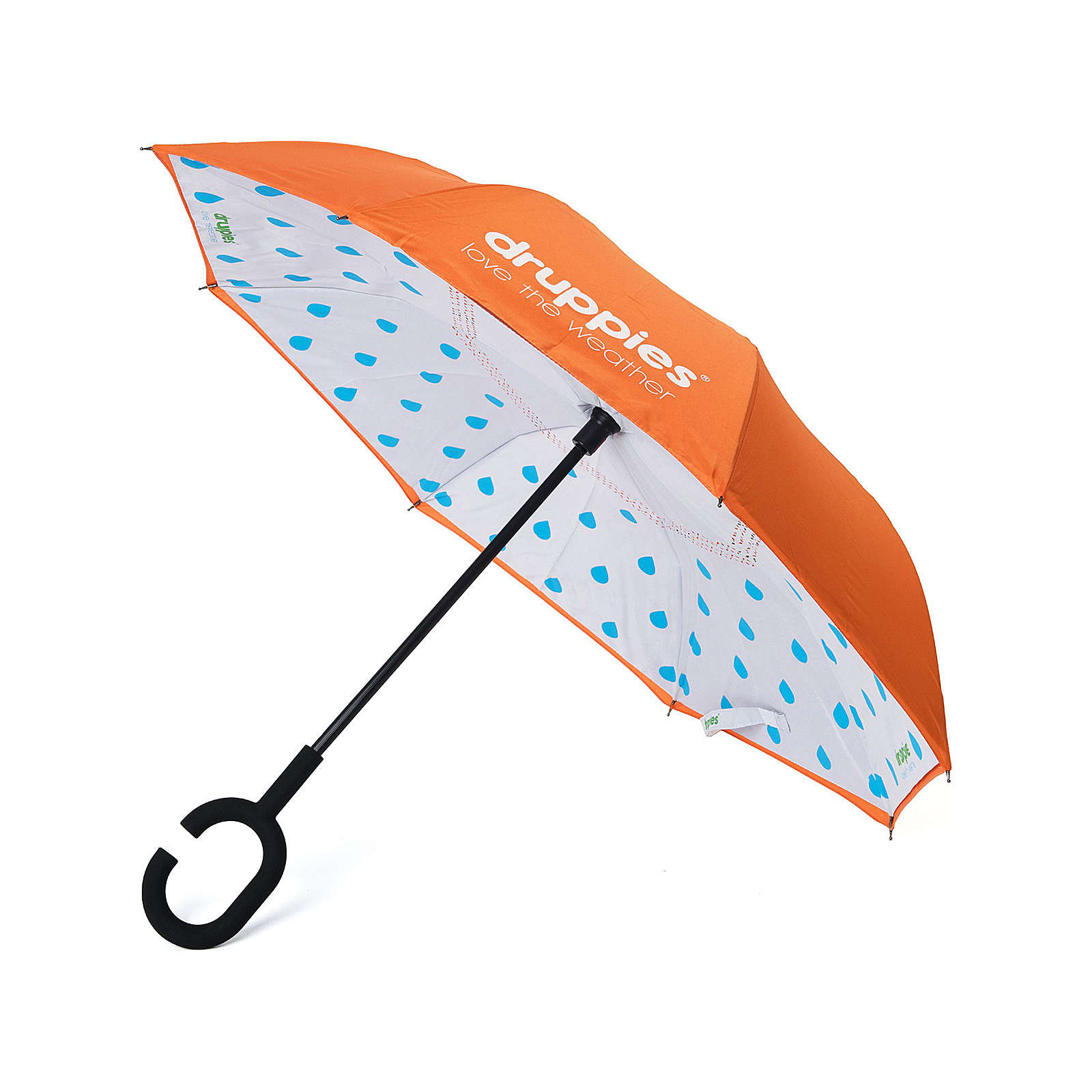 druppies ® Regenschirm  Regenschirm Regenschirme für Kinder orange Gr. one size