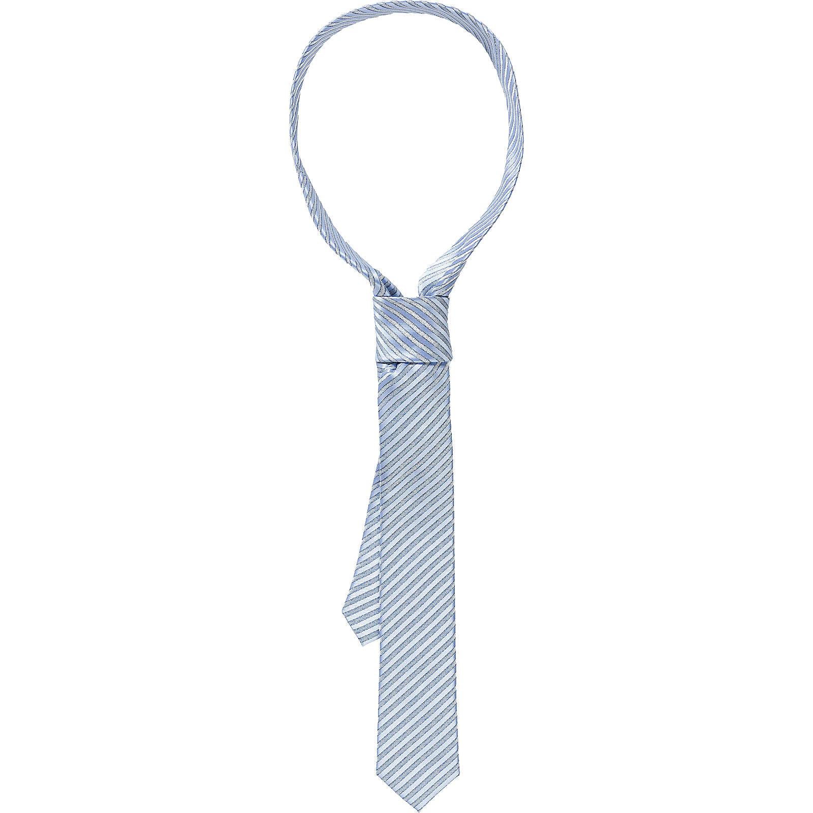Weise Krawatte für Jungen silber-kombi Junge Gr. one size