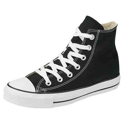 converse chuck taylor all star sneakers high schwarz. Black Bedroom Furniture Sets. Home Design Ideas
