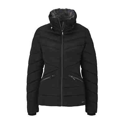Jacken Steppjacke mit Fellkragen Outdoorjacken