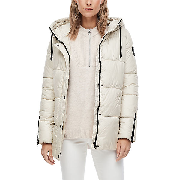 Puffer Jacket mit Kapuze Outdoorjacken