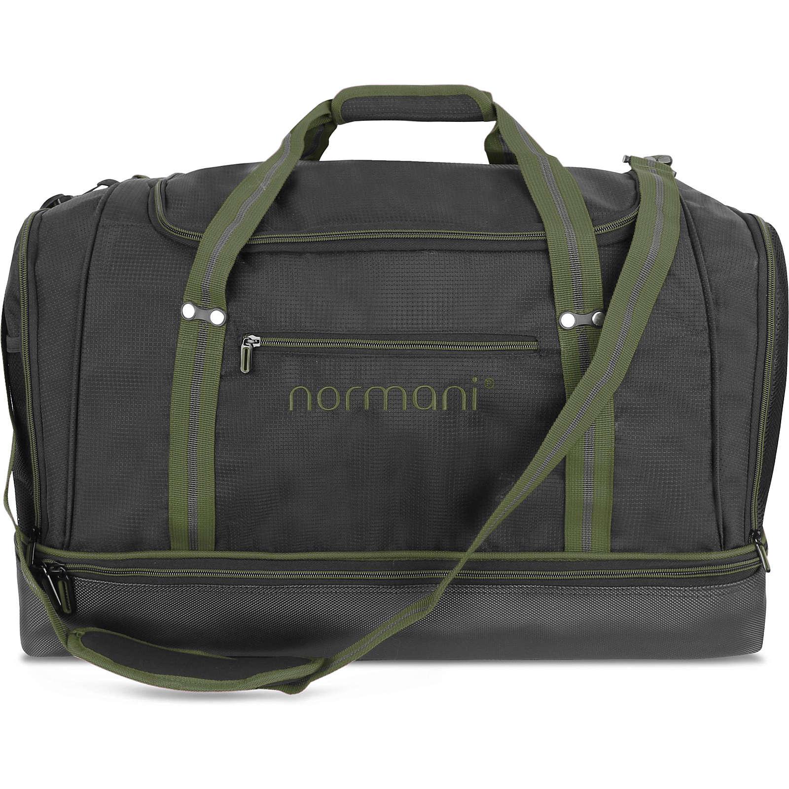 normani® Sporttasche 90 l Nordpass Reisetaschen oliv