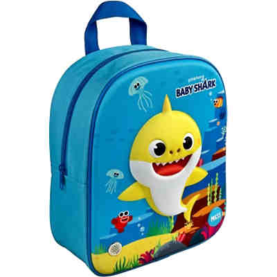 3D Kinderrucksack Baby Shark mit Sound