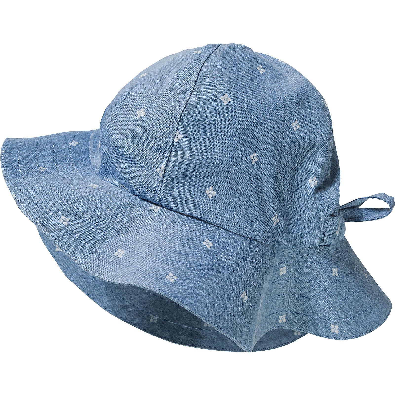 sigikid Hut SUMMER DAY für Mädchen, Organic Cotton blau Mädchen Gr. 54