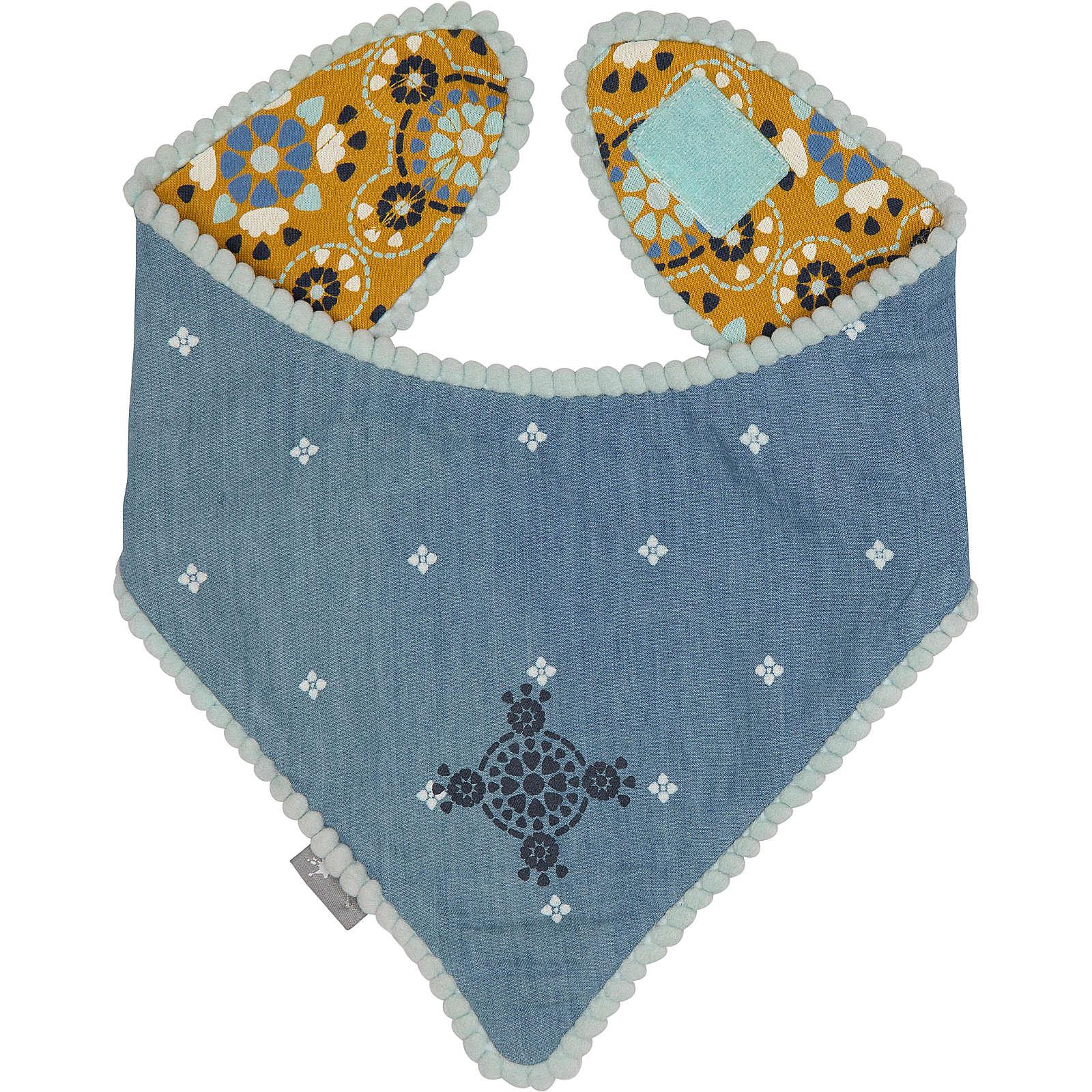 Wendehalstuch SUMMER DAY von sigikid für Mädchen, Organic Cotton blau/gelb Mädchen Gr. one size