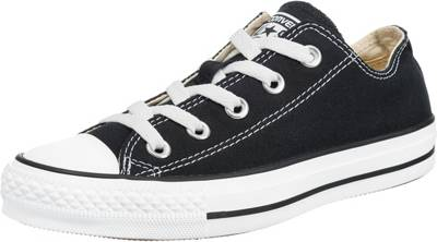 CONVERSE, Chuck Taylor All Star Sneakers Low, schwarz