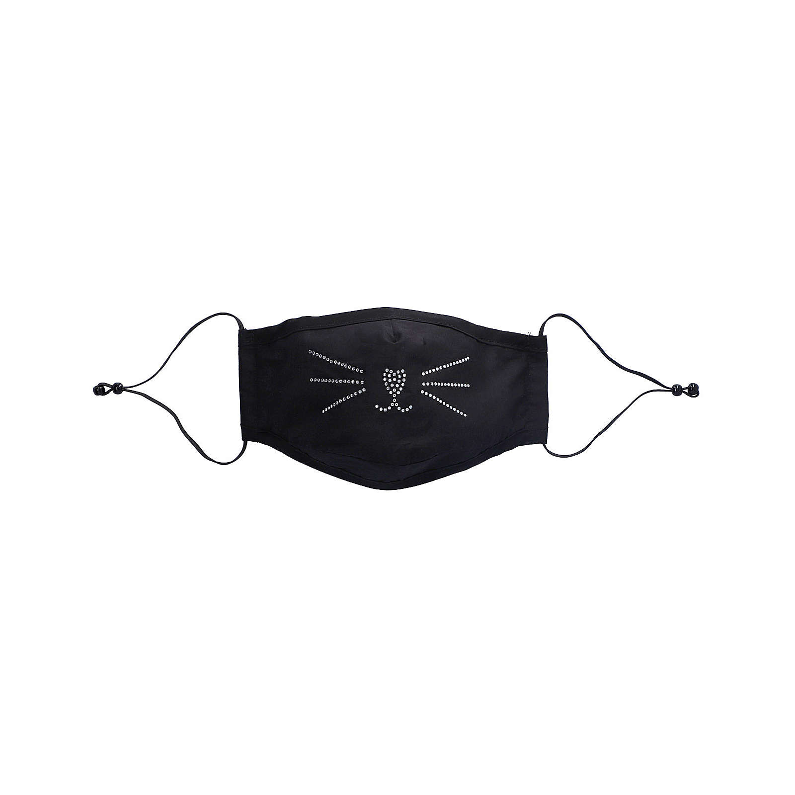 SIX Mund-Nasen-Maske Mund-Nasen-Masken schwarz Damen Gr. one size