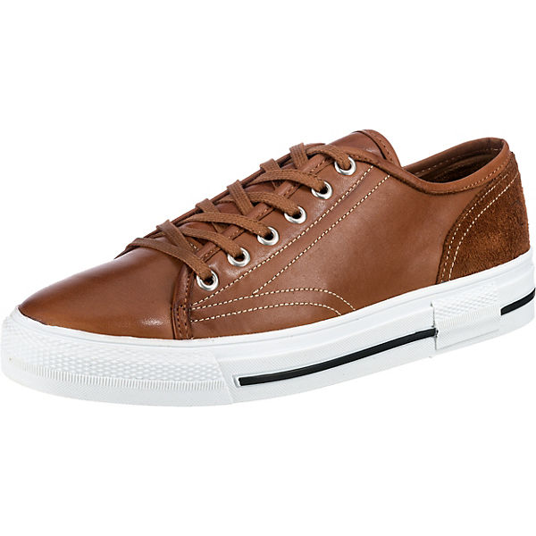 Leder Smooth Velours Sneakers Low