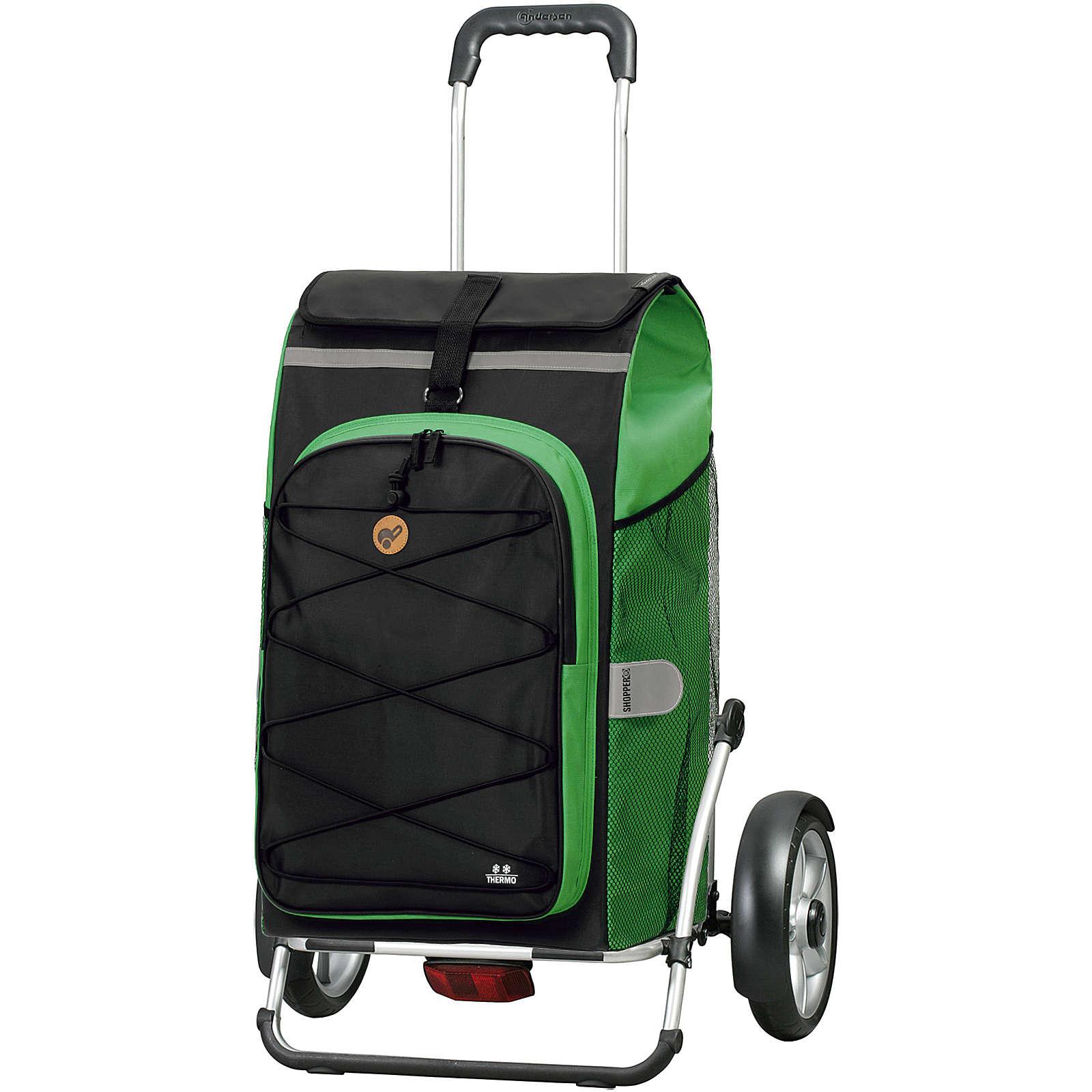 Andersen Royal Shopper Plus Fado 2.0 Einkaufstrolley 70 cm Einkaufstrolleys grün