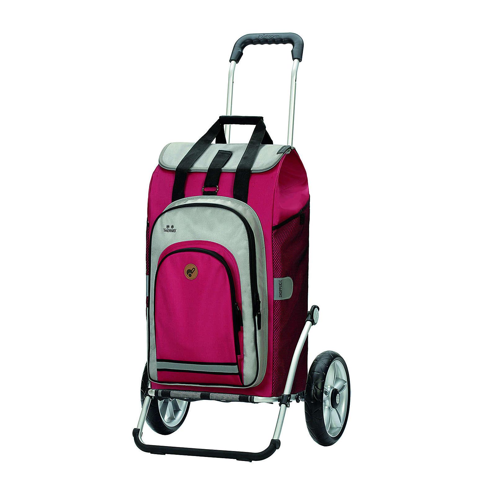 Andersen Royal Shopper Hydro 2.0 Einkaufstrolley 67 cm Einkaufstrolleys pink
