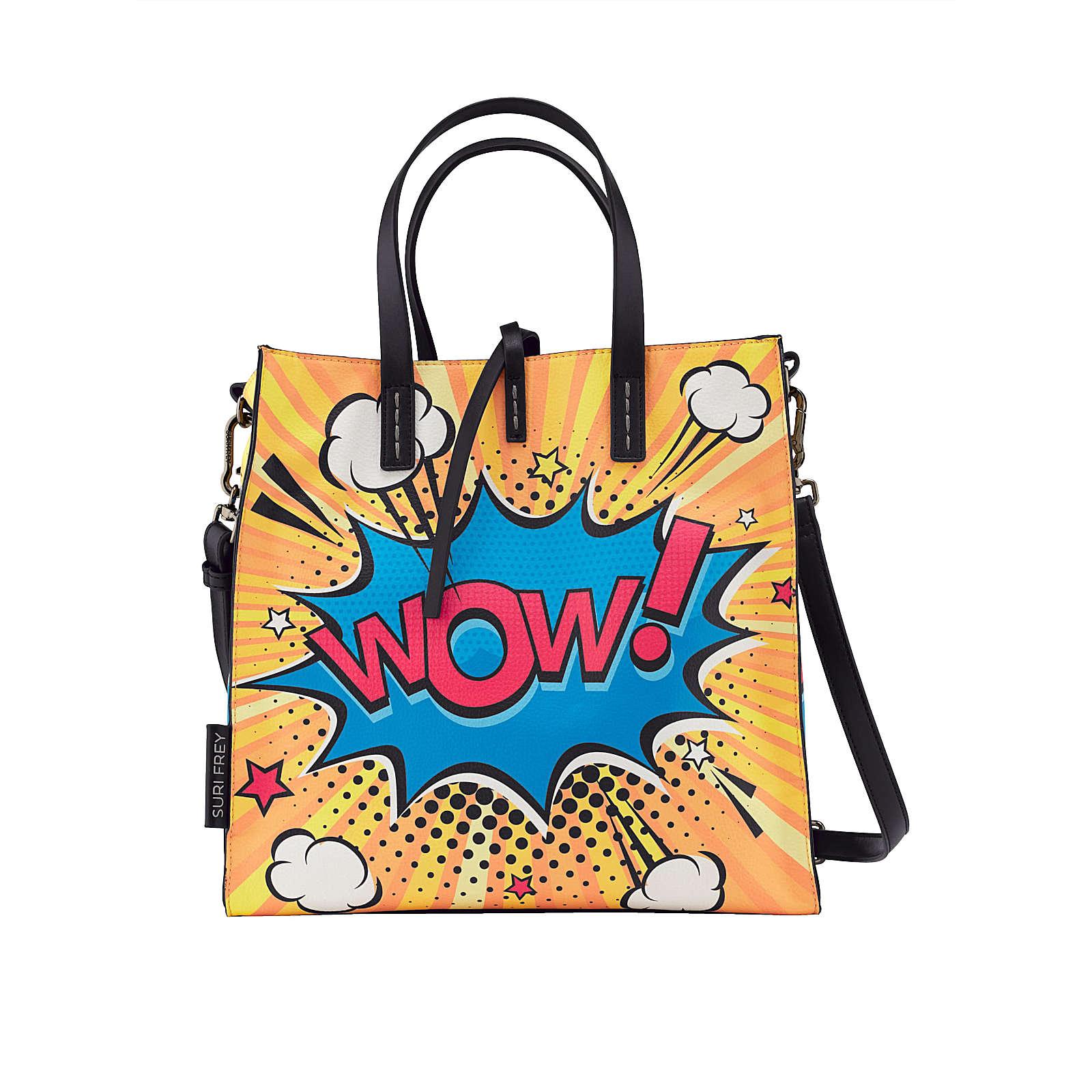 Suri Frey Shopper 2-tlg ca. 31 x 31 x 14 cm Einkaufstaschen gelb Damen