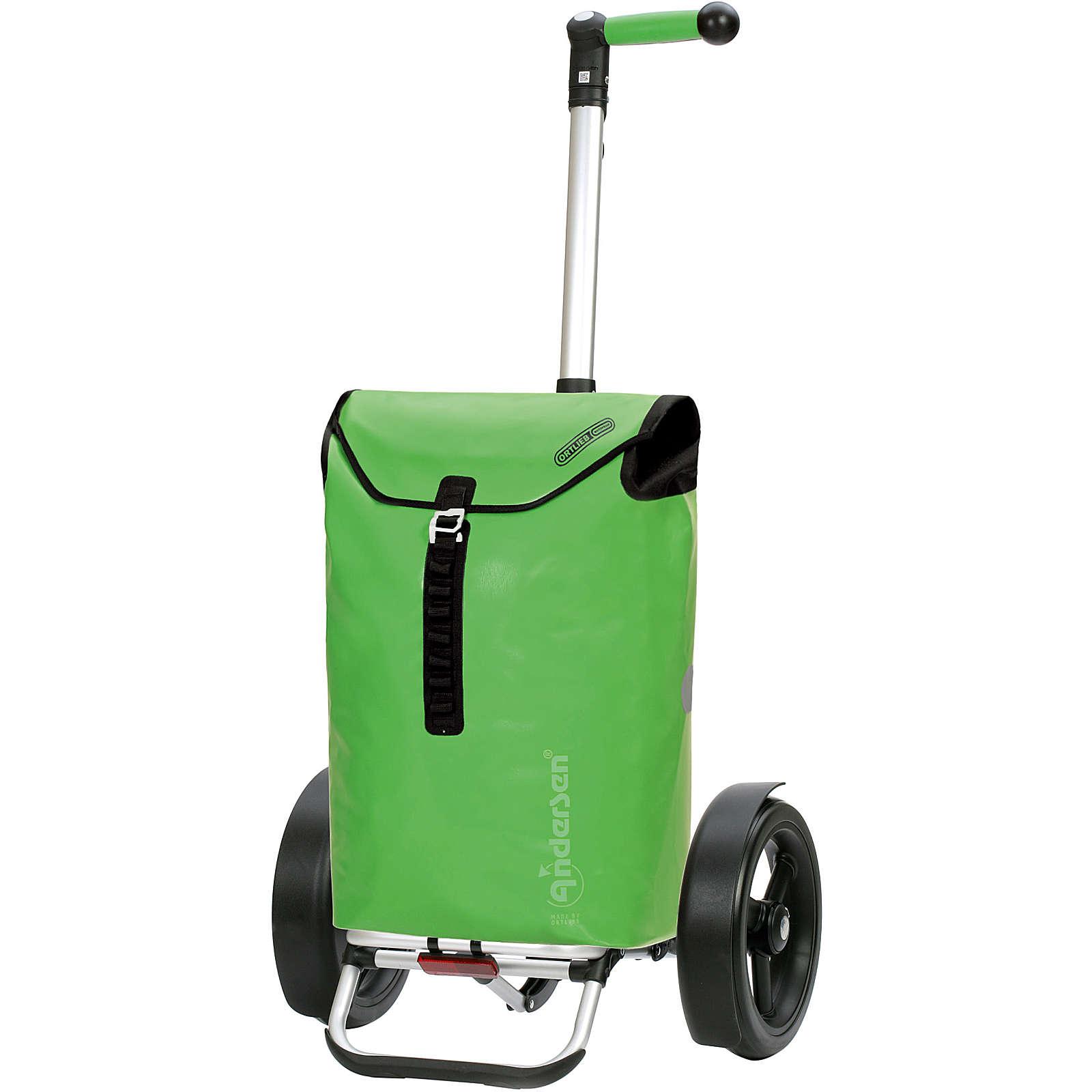 Andersen Tura Shopper Ortlieb Einkaufstrolley 50 cm Einkaufstrolleys dunkelgrün