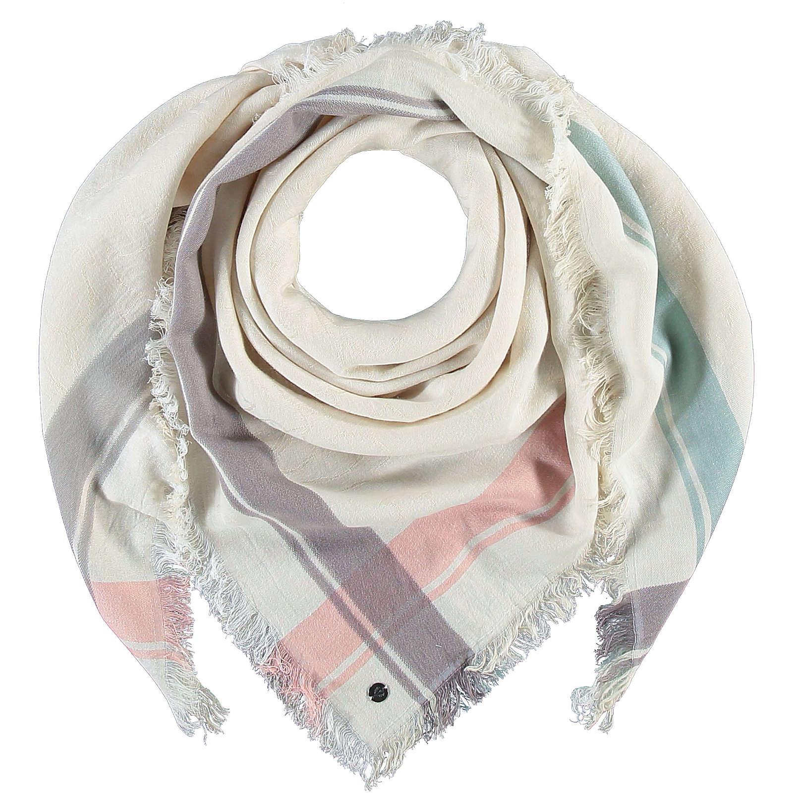 FRAAS Tuch in Baumwollmischung Halstücher creme Damen Gr. one size