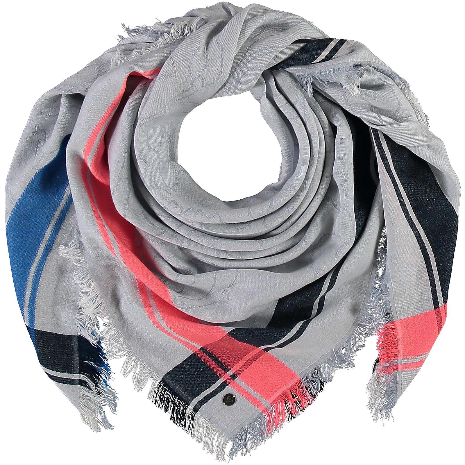 FRAAS Tuch in Baumwollmischung Halstücher blau Damen Gr. one size
