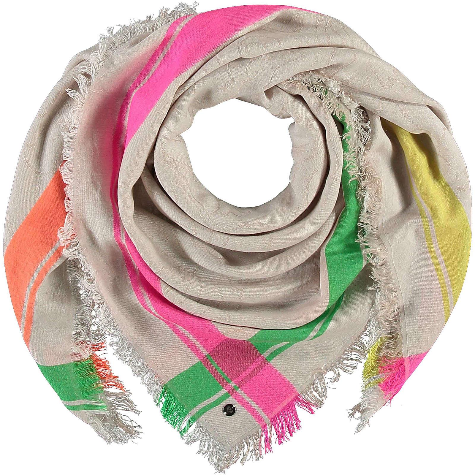 FRAAS Tuch in Baumwollmischung Halstücher taupe Damen Gr. one size