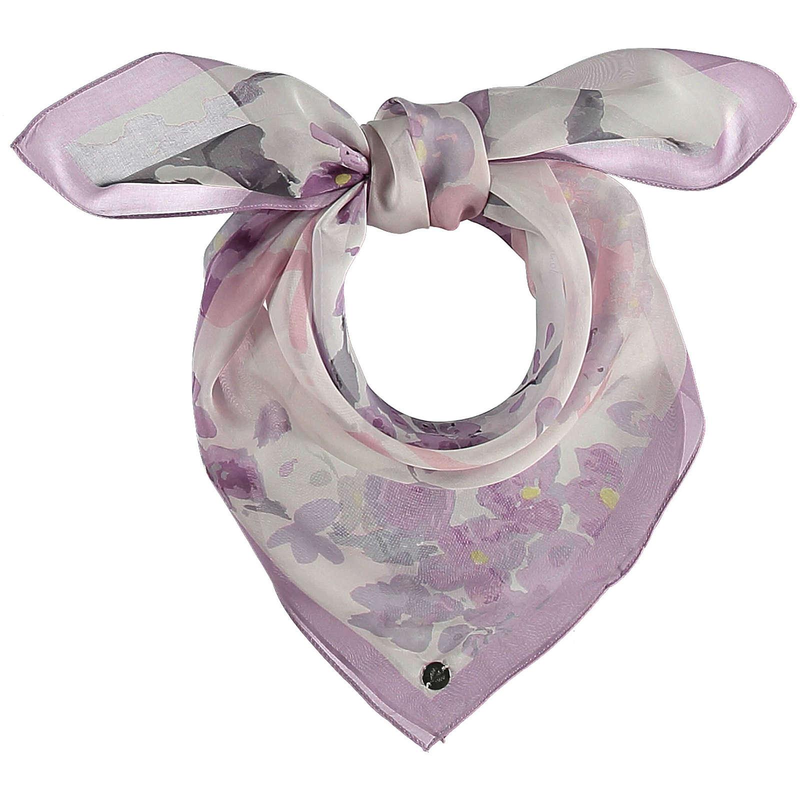 FRAAS Tuch aus reiner Seide Halstücher lila Damen Gr. one size