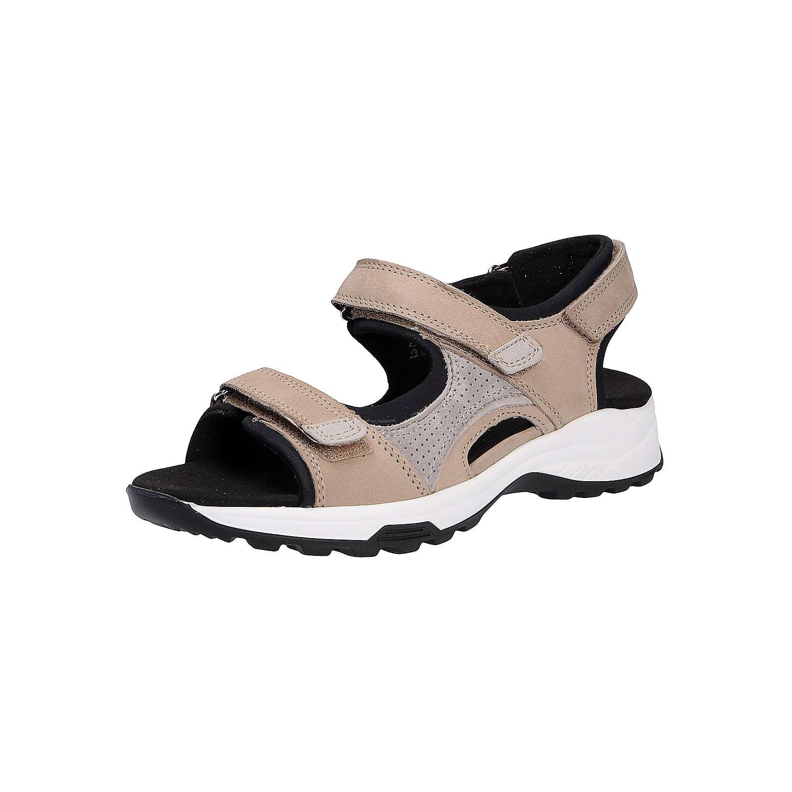 WALDLÄUFER Damen Sandale Komfort-Sandalen beige Damen Gr. 38,5