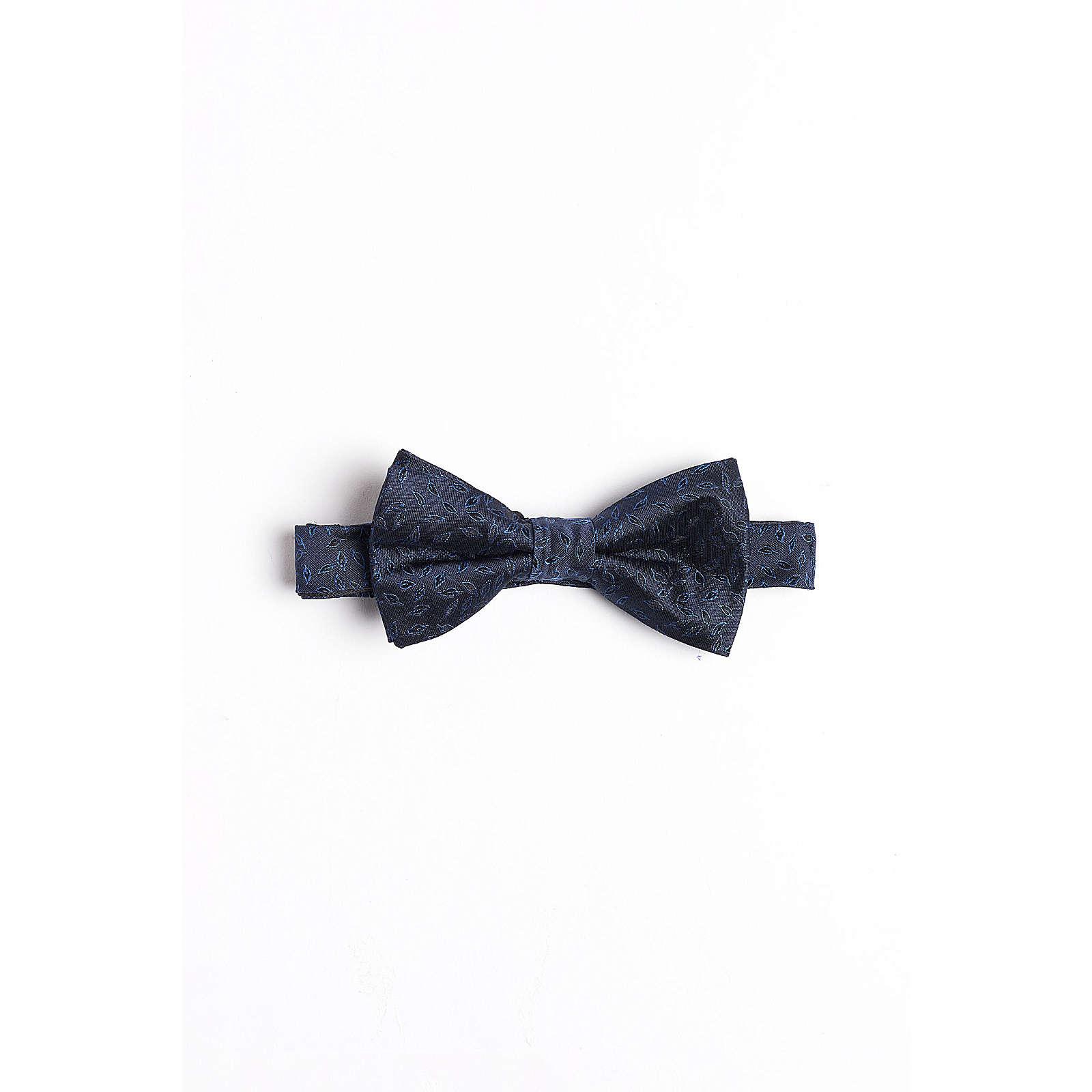 WE Fashion Herren-Seidenfliege mit Muster Krawatten blau Herren Gr. one size