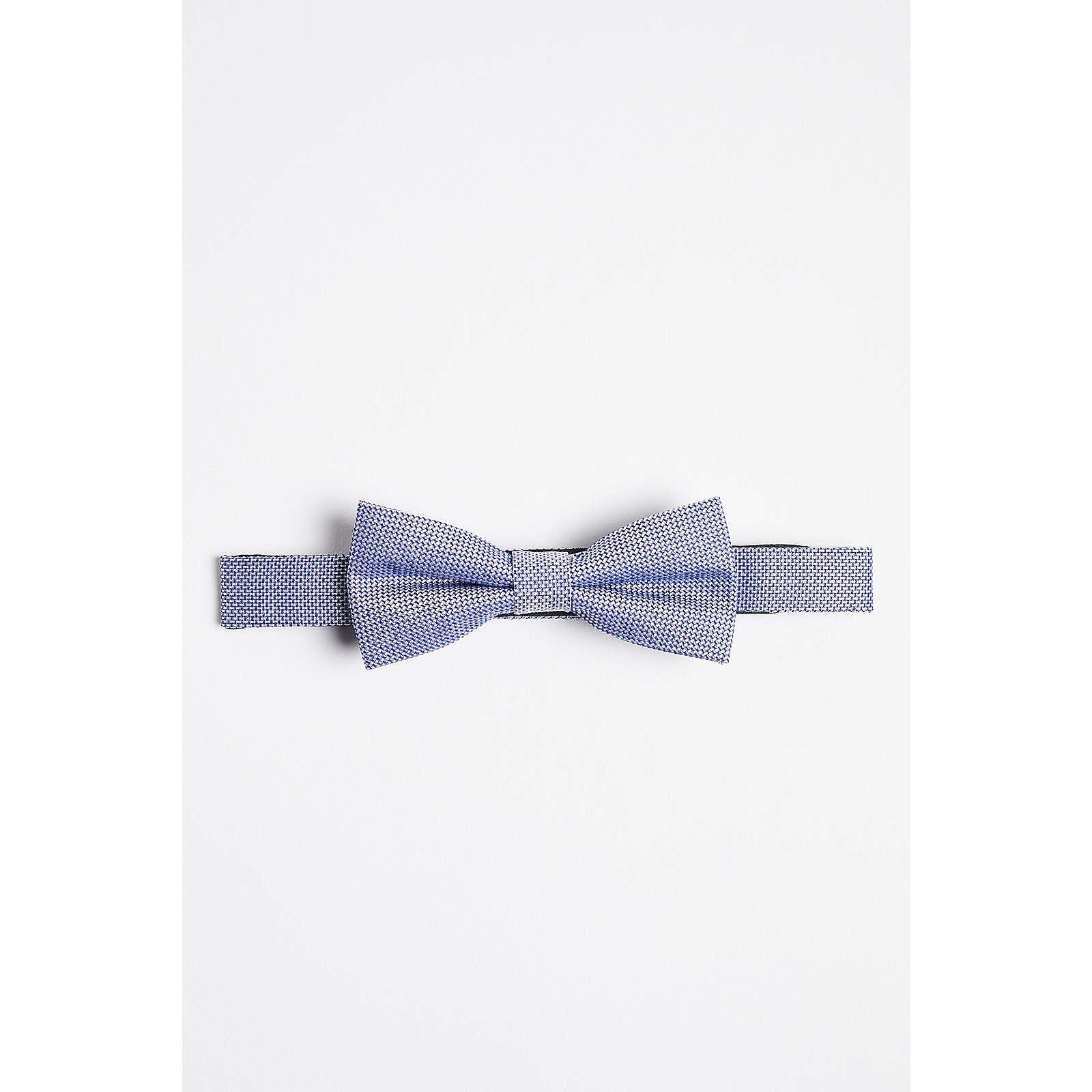 WE Fashion Herrenfliege mit Muster Krawatten AdultM blau Herren Gr. one size