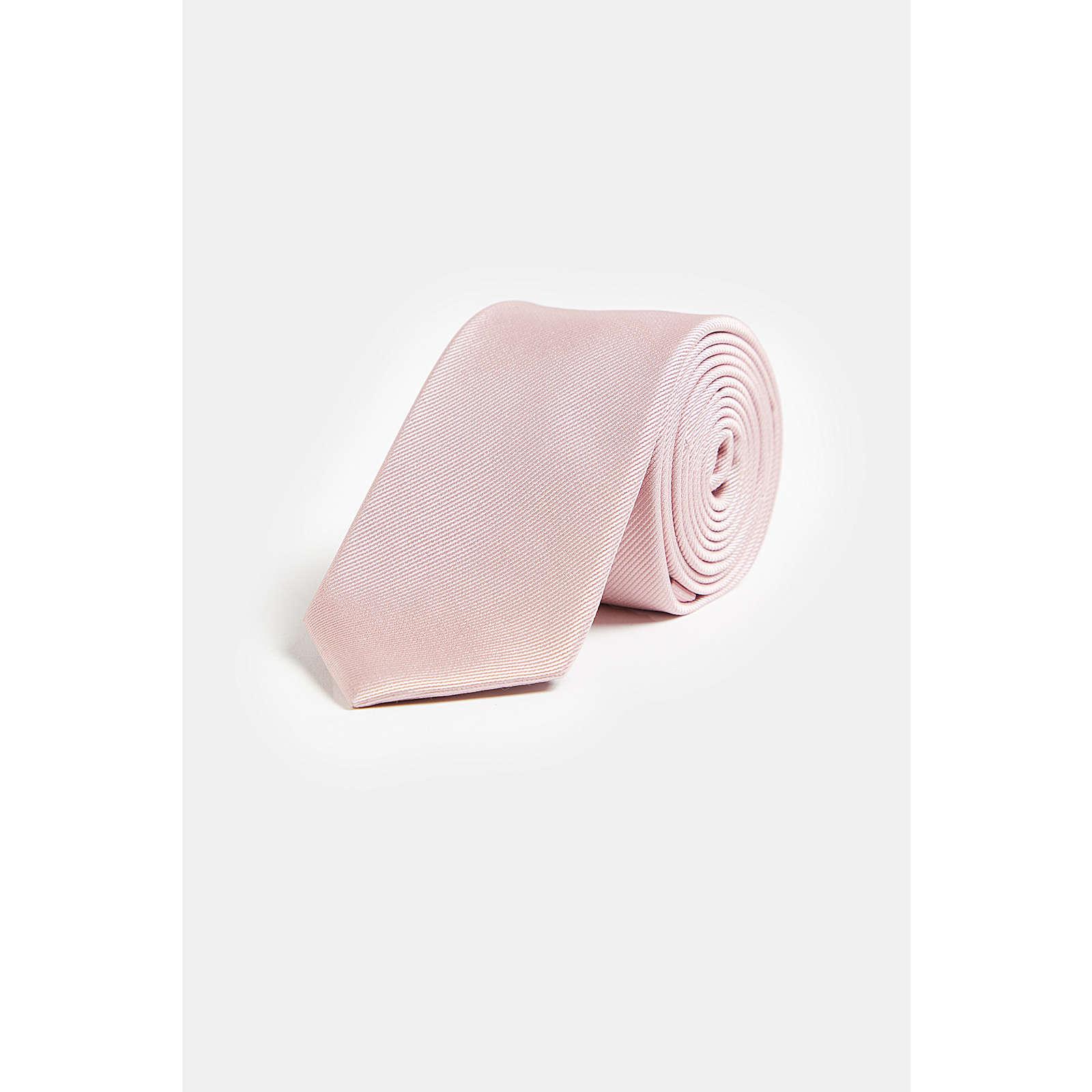WE Fashion Herrenkrawatte aus Seide Krawatten AdultM rosa Herren Gr. one size