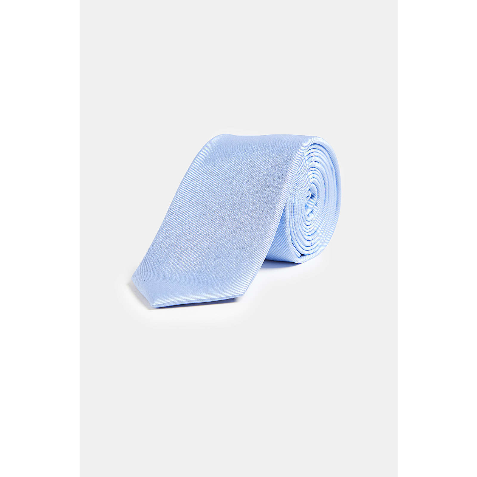 WE Fashion Herrenkrawatte aus Seide Krawatten AdultM blau Herren Gr. one size