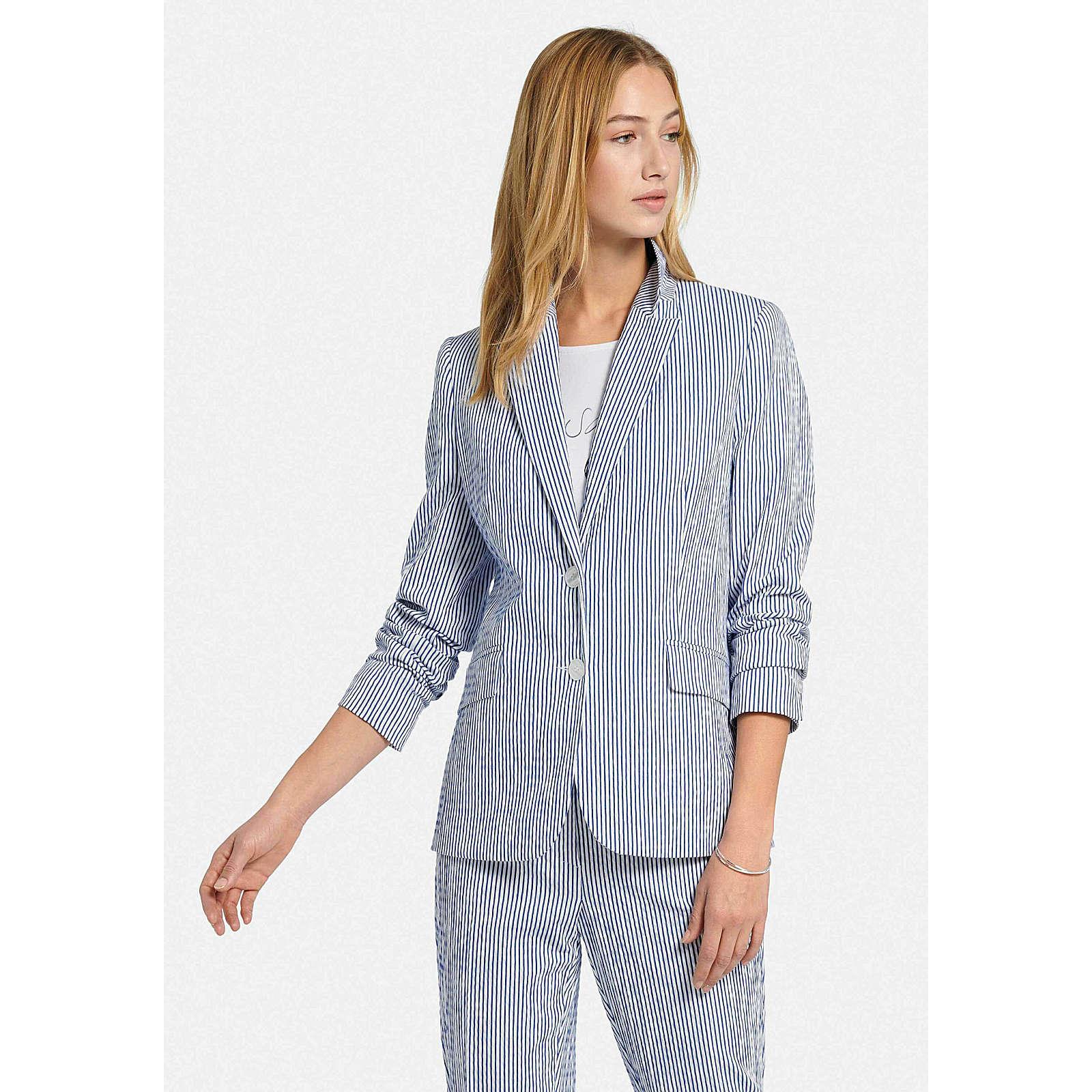 UTA RAASCH Blazer mit Reverskragen Blazer blau Damen Gr. 44
