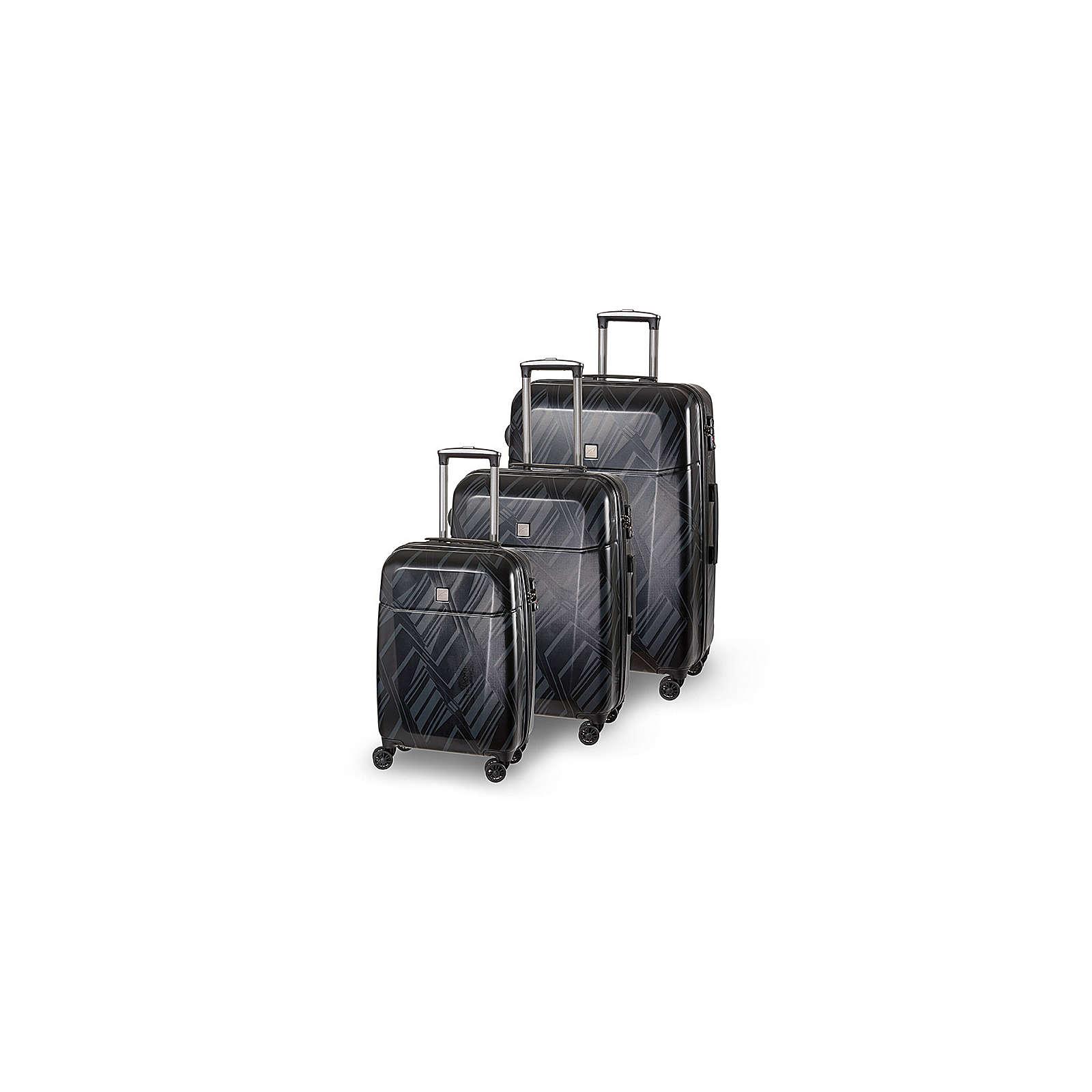 SCHNEIDERS Koffer Set Florenz Koffer schwarz
