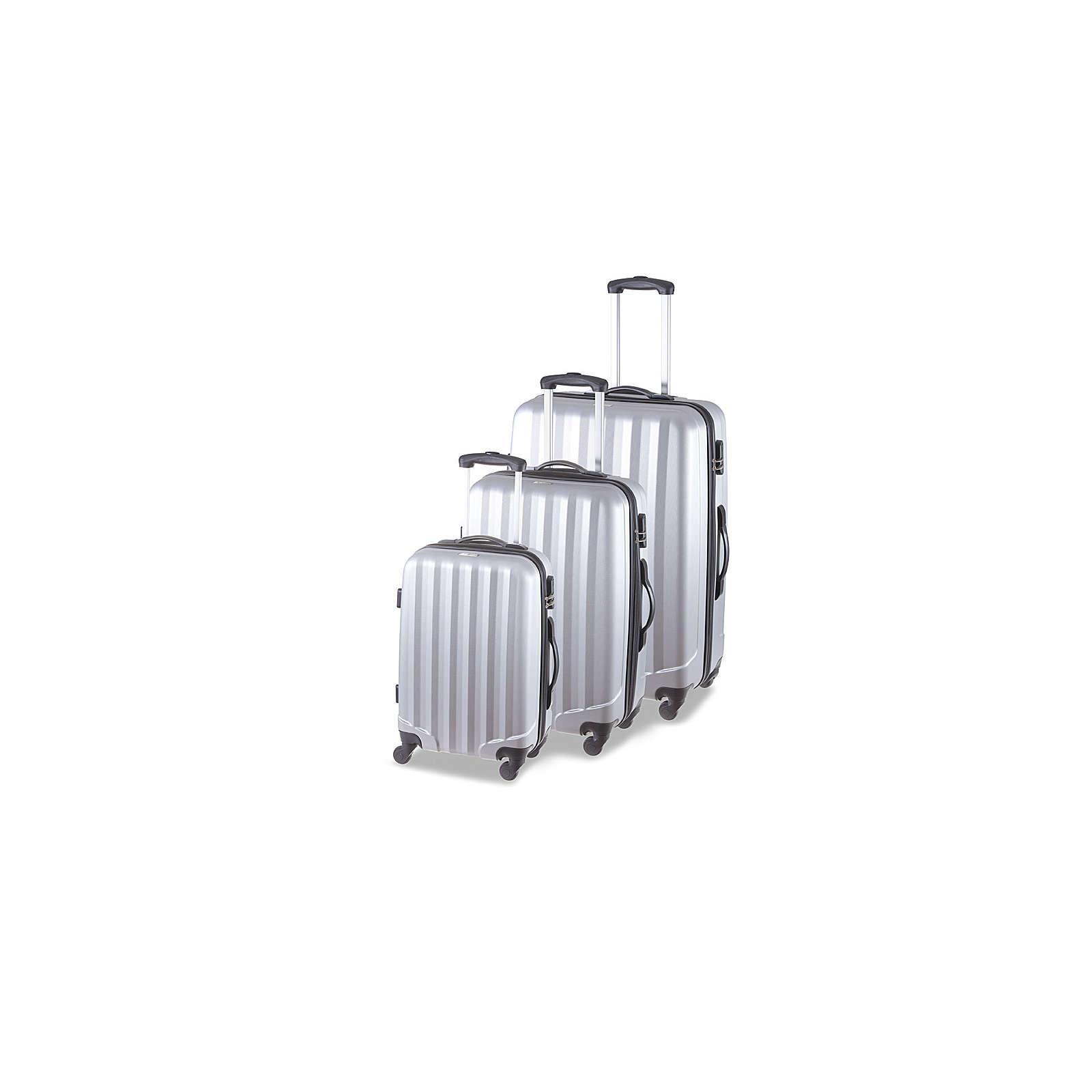 SCHNEIDERS Koffer Set Manhattan Koffer silber