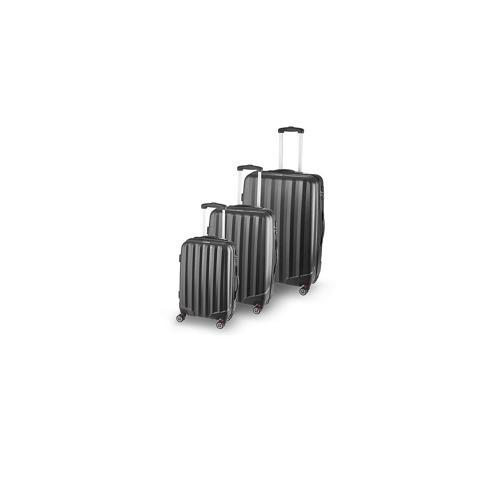 SCHNEIDERS Koffer Set Manhattan Koffer schwarz