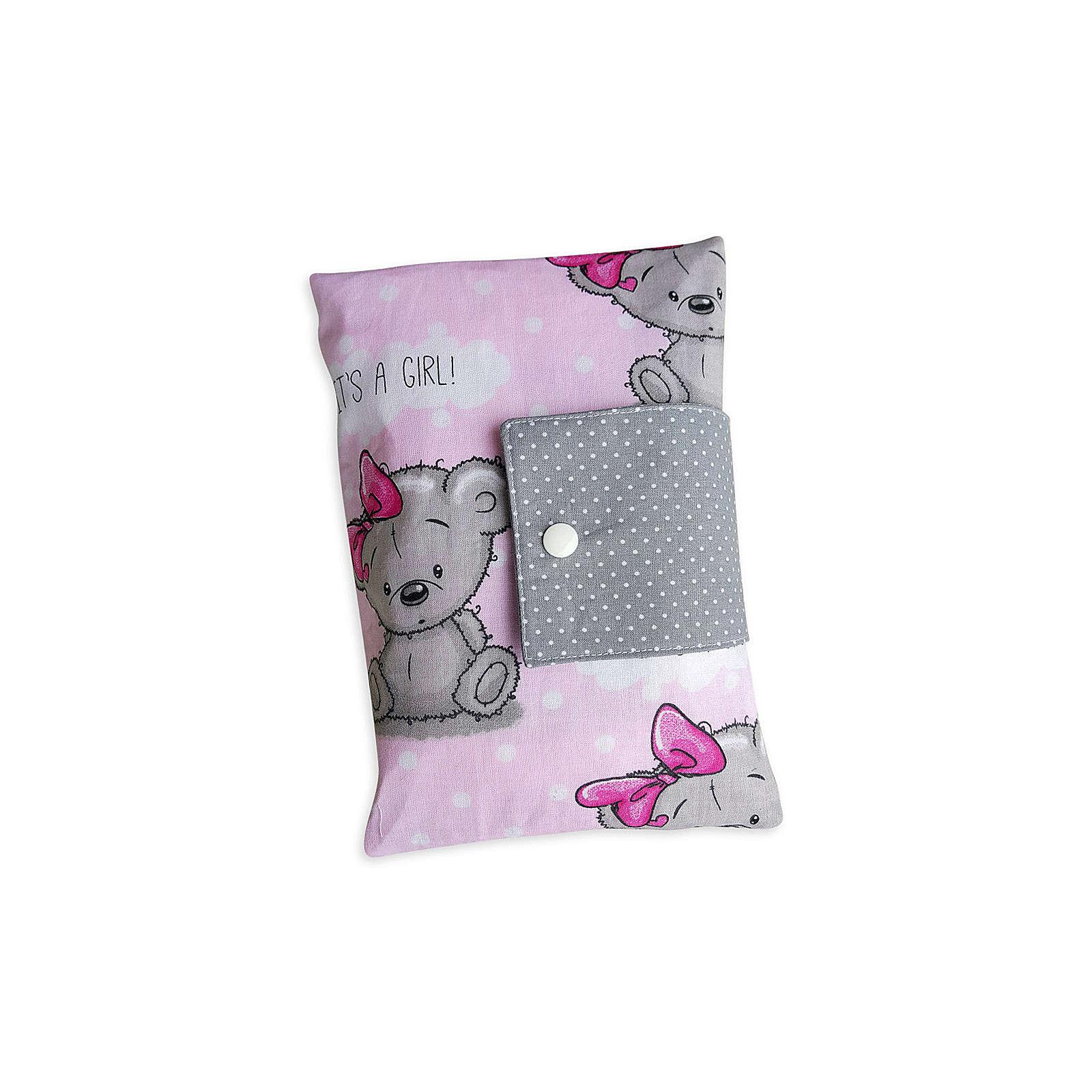 Land Juwelen Windeltasche XXL Teddy rosa Windeltaschen für Mädchen rosa Mädchen