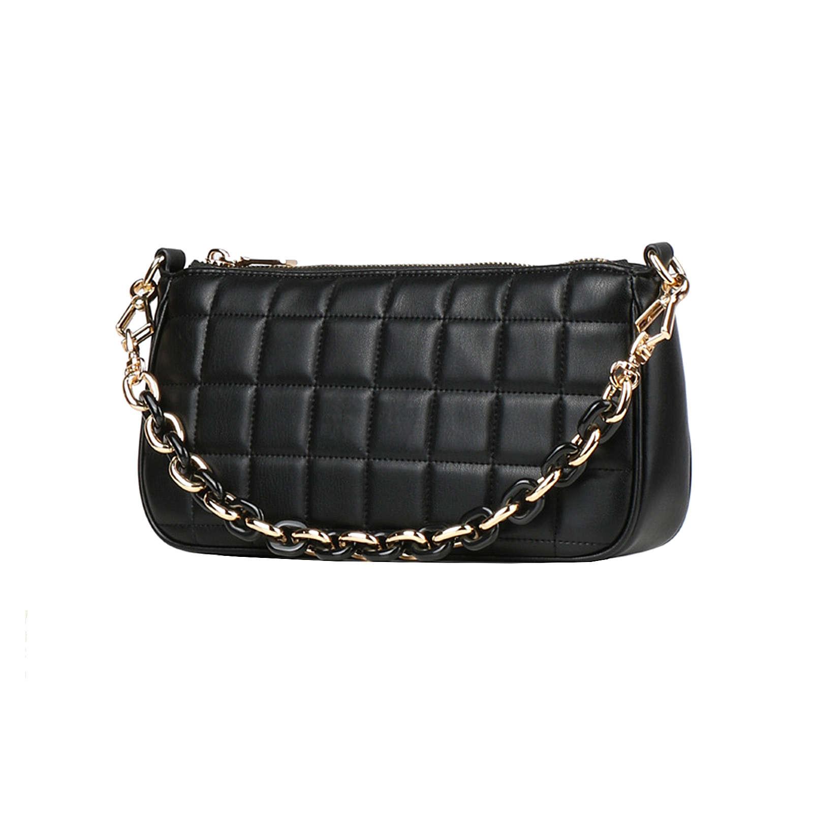 SEIDENFELT MANUFAKTUR Sigtuna Mini Bag Handtasche 17 cm Handtaschen schwarz Damen